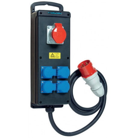 COFFRET ELECTRIQUE A SUSPENDRE 380V/16A