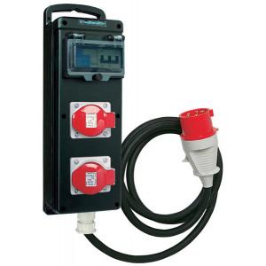 COFFRET ELECTRIQUE A SUSPENDRE 380V/32A